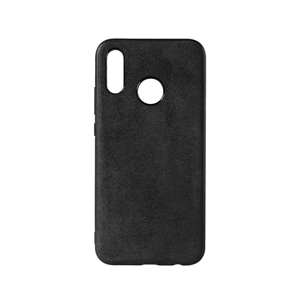 on sale ad6c8 1302c Custom Alcantara Huawei P20 Lite Case