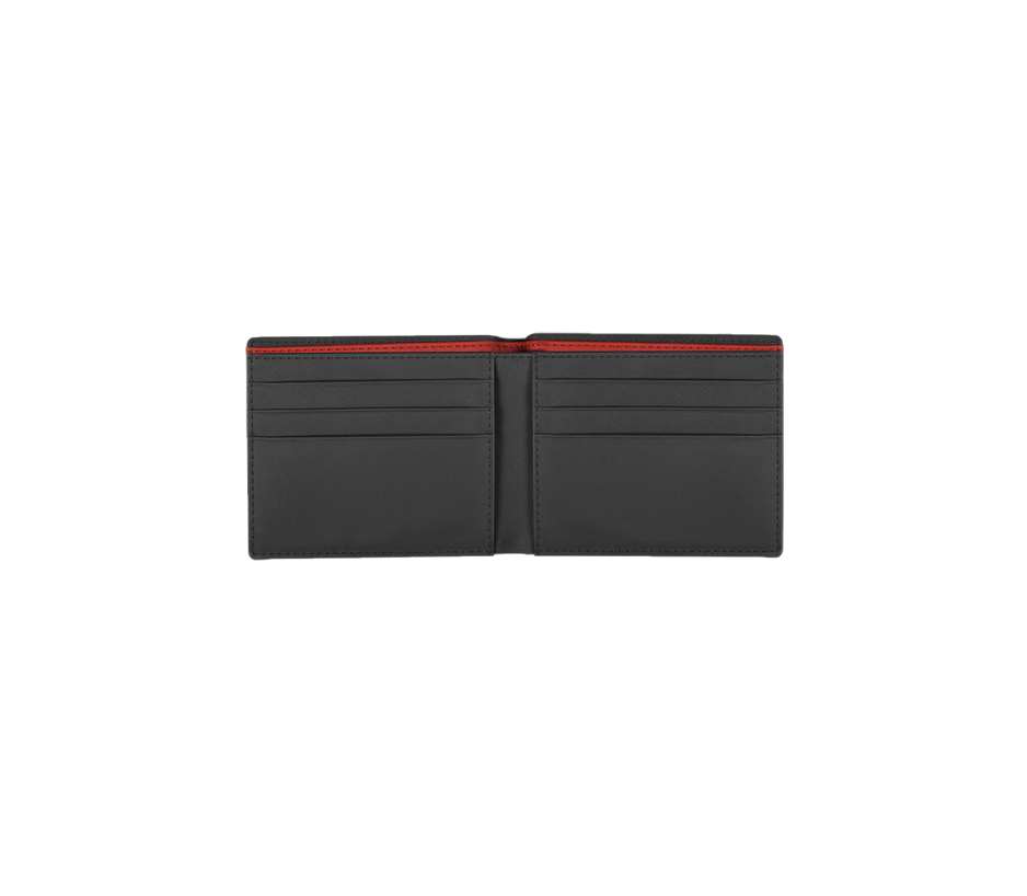 Alcantara Wallet with Sesto Elemonto Embossing - INTERIOREX