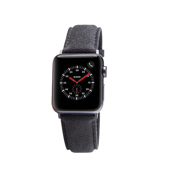 Alcantara Apple Watch 3/4 Band - INTERIOREX