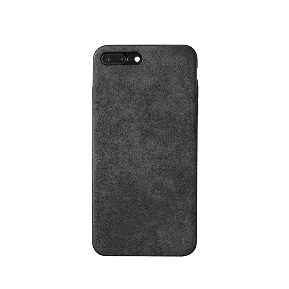 new concept fe1c4 a7d45 Custom Alcantara iPhone 7 Plus / 8 Plus Case