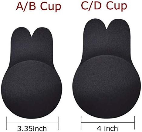 Onesan Women's Breast Lifter Silicone Adhesive Bras Invisible Backless Nipplecovers