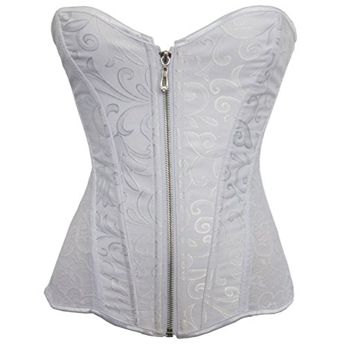 Overbust Corset Apricot White Coreset