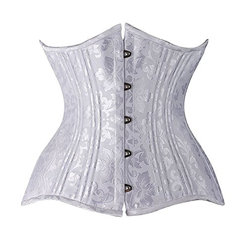 Double Steel Boned Underbust Waist Slimming Corset 684