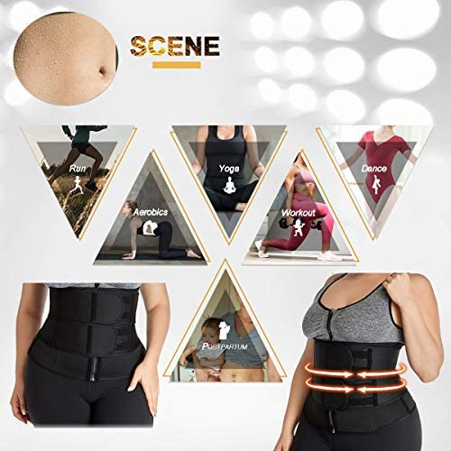 Waist Trainer Belt Plus Size Neoprene Sport Girdle Belt for Weight Loss