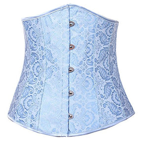 Underbust Boned Lace up Corset Waist Cincher 120-2