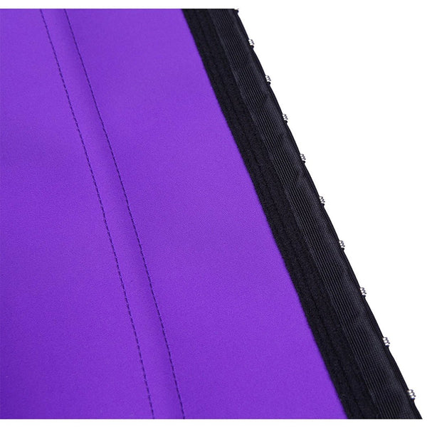 latex waist trainer purple plus size