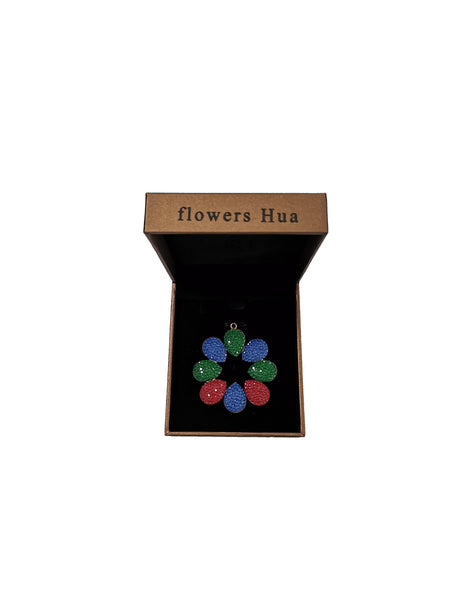 flowers Hua Pendants Necklaces for Women