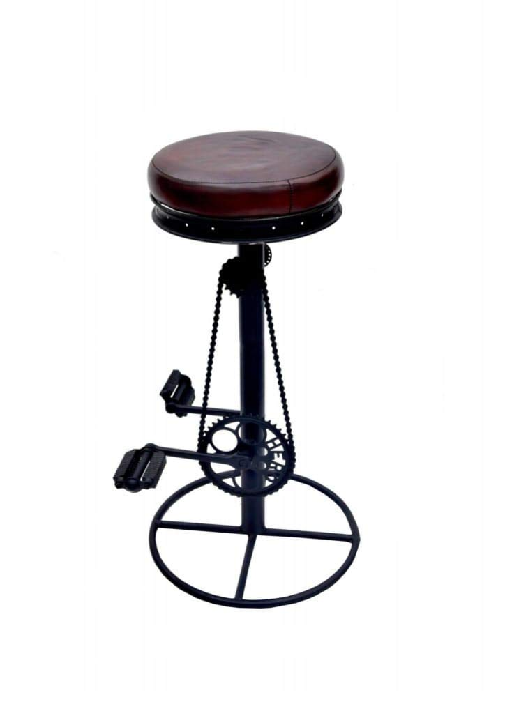Cycle Styled Bar Stool