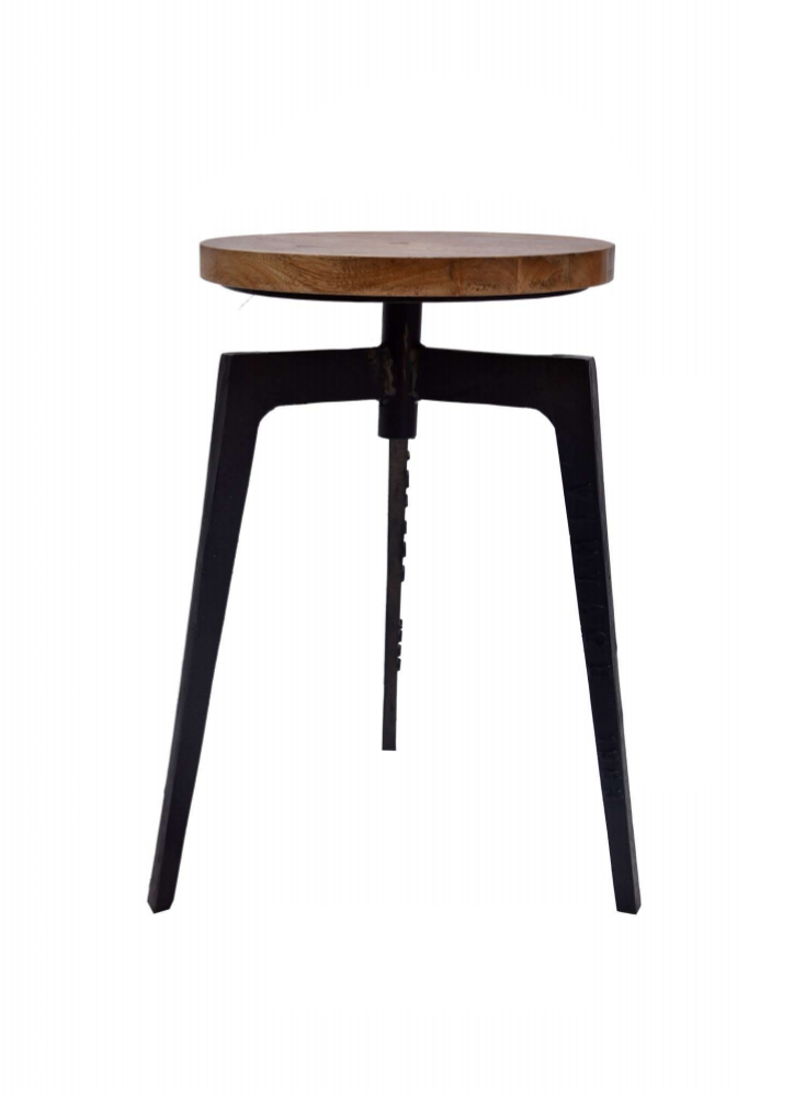 Fine Wooden Bar Stool With Tri Stand Machost Co Dining Chair Design Ideas Machostcouk