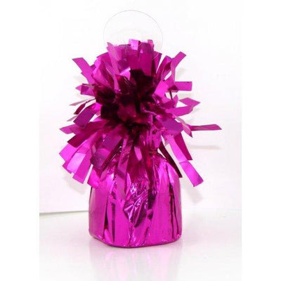 BALLOON WEIGHT FOIL MAGENTA