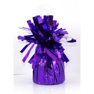 BALLOON WEIGHT FOIL PURPLE