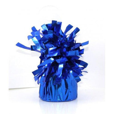 BALLOON WEIGHT FOIL ROYAL BLUE