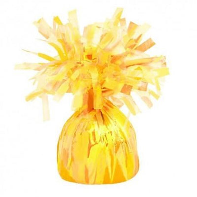 BALLOON WEIGHT FOIL YELLOW