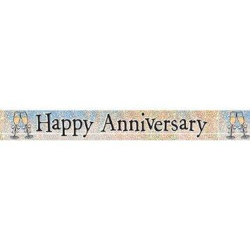 BANNER - HAPPY ANNIVERSARY PRISMATIC