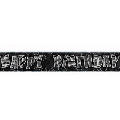 BANNER - HAPPY BIRTHDAY BLACK