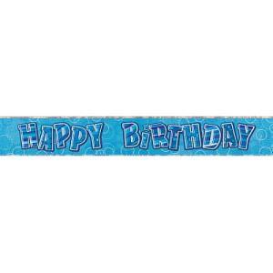 BANNER - HAPPY BIRTHDAY BLUE