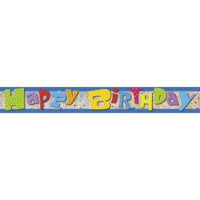 BANNER - HAPPY BIRTHDAY PRISMATIC