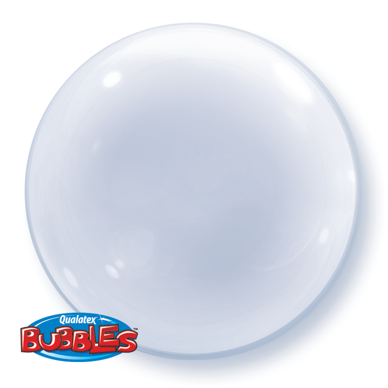 BUBBLE BALLOON 60CM - CLEAR