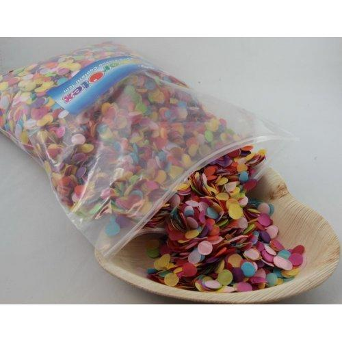CONFETTI - TISSUE BRIGHT ASSORTED 250G 1CM