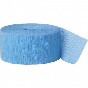 CREPE STREAMERS 30M SKY BLUE