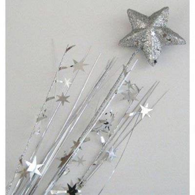 FOAM SPRAY STAR SOLID SILVER