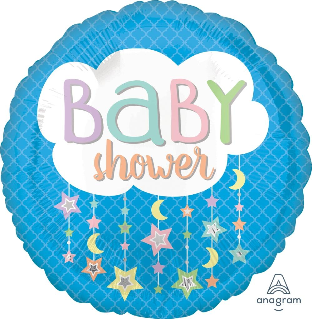 FOIL BALLOON 45CM - BABY SHOWER CLOUD