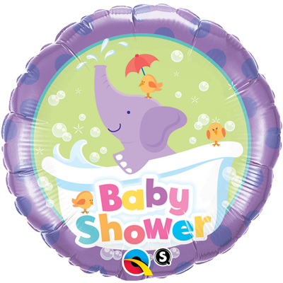 FOIL BALLOON 45CM - BABY SHOWER ELEPHANT