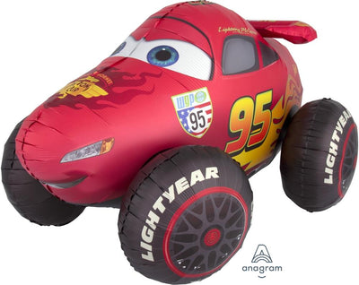FOIL BALLOON AIRWALKER 104CM X 68CM - LIGHTING MCQUEEN
