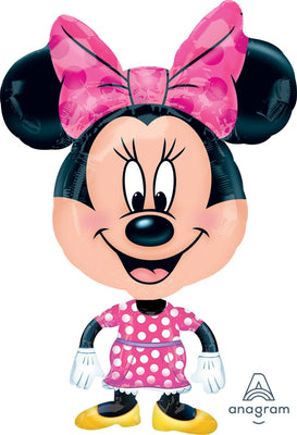 FOIL BALLOON AIRWALKER 55CM X 78CM - BUDDY MINNIE