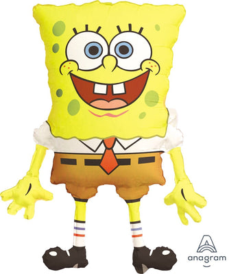 FOIL SUPERSHAPE BALLOON - SPONGEBOB SQAUREPANTS 71X56CM