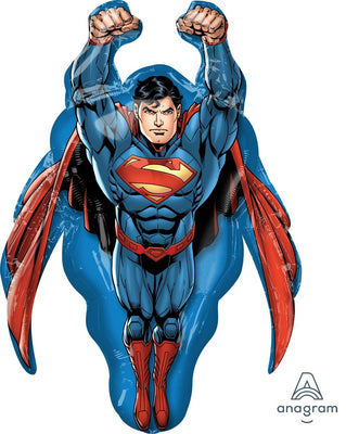 FOIL SUPERSHAPE BALLOON - SUPERMAN 86X58CM
