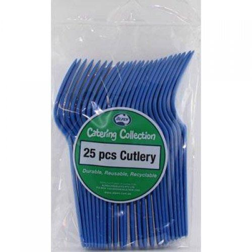FORK - ROYAL BLUE PK25