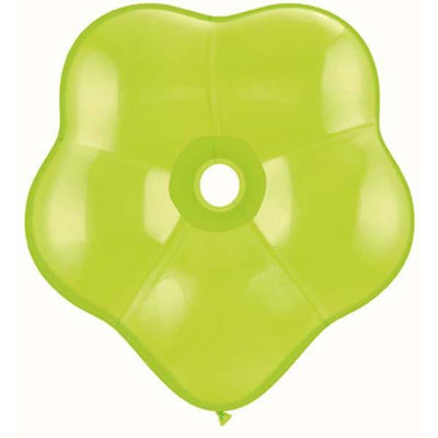 GEO BLOSSOM LATEX BALLOON 40CM - LIME GREEN