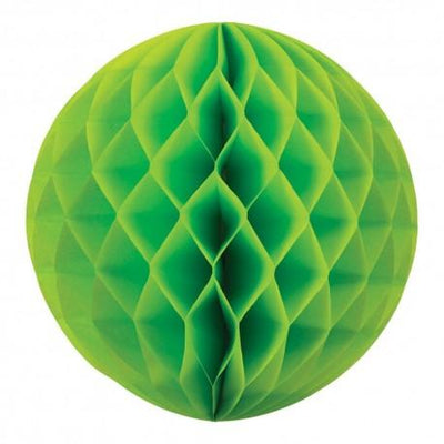 HONEYCOMB BALL 35CM LIME