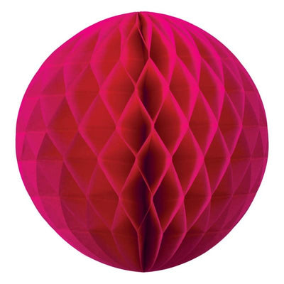 HONEYCOMB BALL 35CM MAGENTA