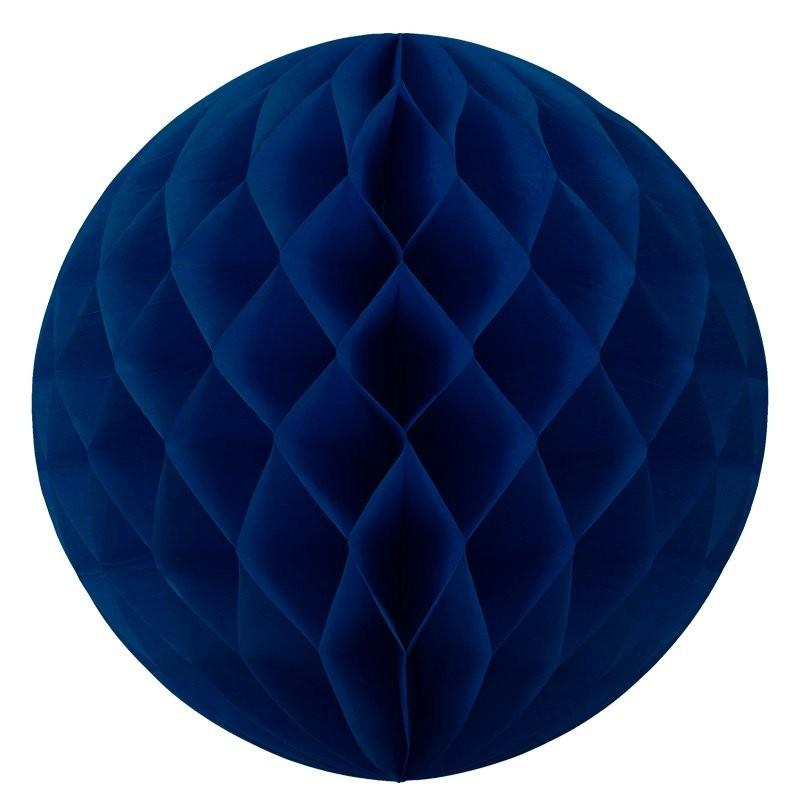 HONEYCOMB BALL 25CM NAVY BLUE