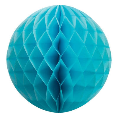 HONEYCOMB BALL 35CM PASTEL BLUE