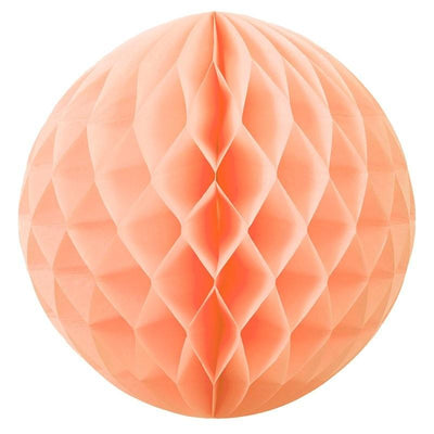 HONEYCOMB BALL 35CM PEACH