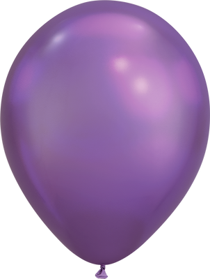 LATEX BALLOON 28CM - CHROME PURPLE