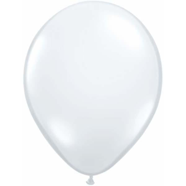 LATEX BALLOON 28CM - DIAMOND CLEAR