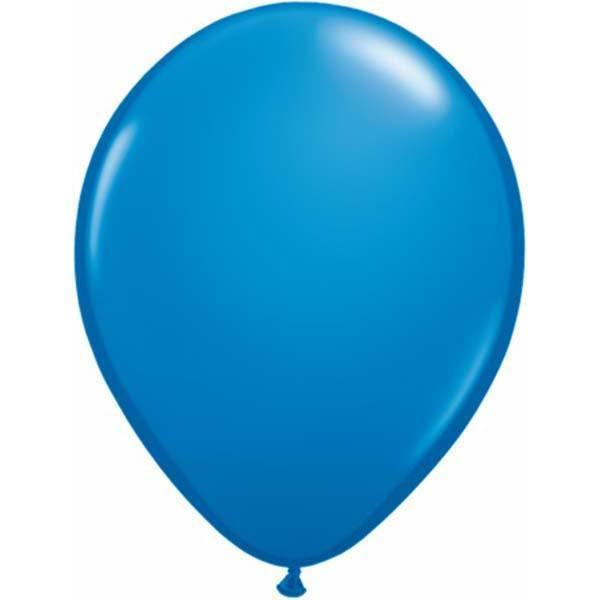 LATEX BALLOON 12CM - FASHION DARK BLUE PK 100