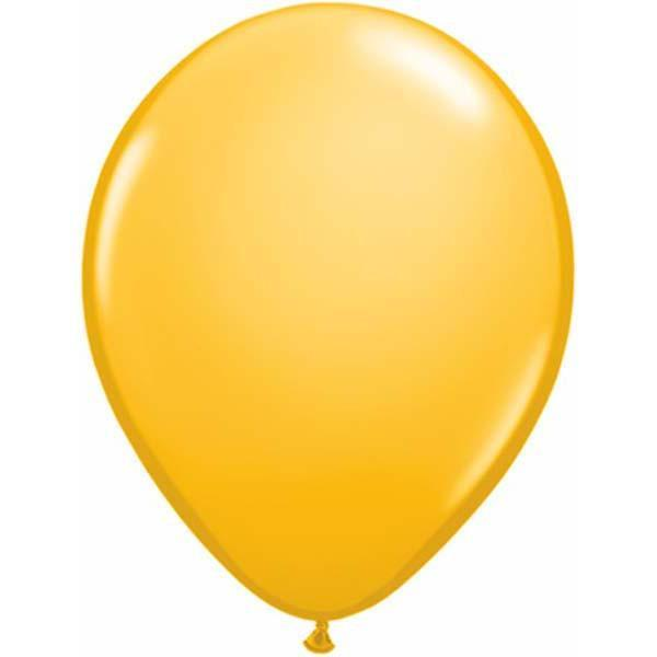 LATEX BALLOON 28CM - FASHION GOLDENROD PK 100
