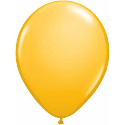 LATEX BALLOON 12CM - FASHION GOLDENROD
