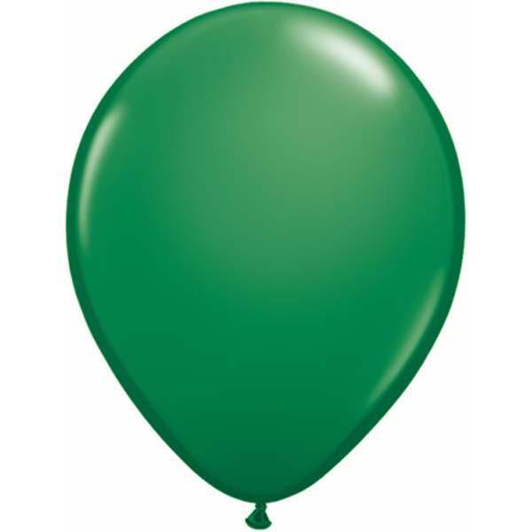 LATEX BALLOON 28CM - FASHION GREEN PK 100