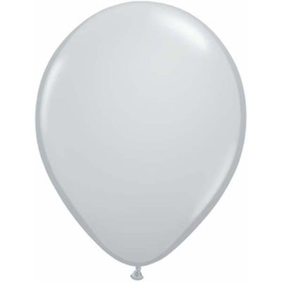 LATEX BALLOON 12CM - FASHION GREY PK 100