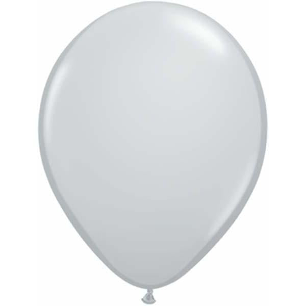 LATEX BALLOON 28CM - FASHION GREY PK 100