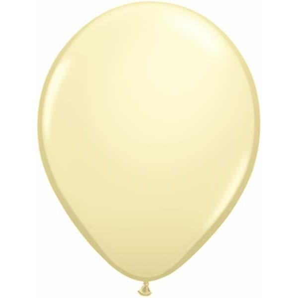 LATEX BALLOON 12CM - FASHION IVORY SILK PK 100