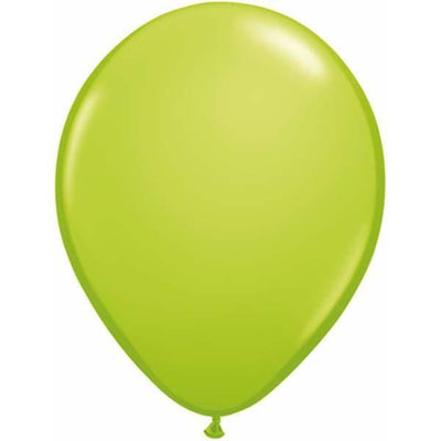 LATEX BALLOON 12CM - FASHION LIME GREEN PK 100