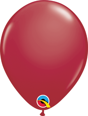 LATEX BALLOON 12CM - FASHION MAROON PK 100