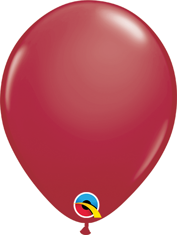 LATEX BALLOON 28CM - FASHION MAROON PK 100